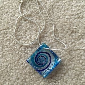 Jewelry - New Sterling silver 925 Gemstone Necklace
